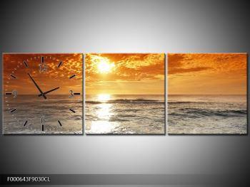Obraz moře a západu slunce (F000643F9030CL)