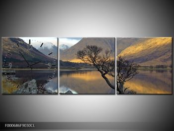 Obraz hor u jezera (F000686F9030CL)
