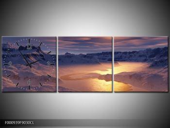 Krásný obraz zimní krajiny (F000939F9030CL)