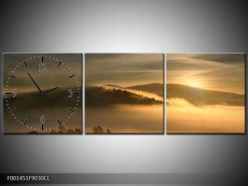 Obraz hor v mlze (F001451F9030CL)