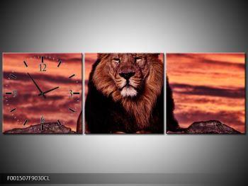 Obraz krále zvířat (F001507F9030CL)