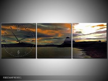 Obraz moře v temné obloze (F001564F9030CL)