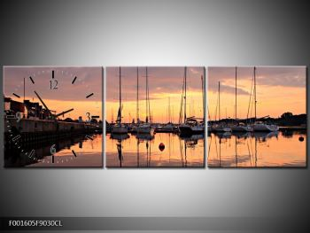 Obraz přístavu (F001605F9030CL)