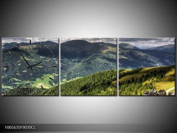 Obraz horského údolí (F001635F9030CL)