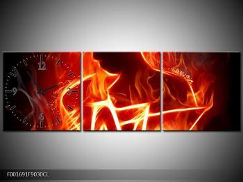 Obraz ohnivé postavy (F001691F9030CL)