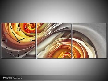 Abstraktní obraz - spirál (F001693F9030CL)