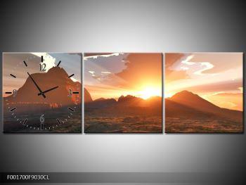 Obraz západu slunce nad horama (F001700F9030CL)