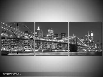 Moderní obraz - New York (F001800F9030CL)
