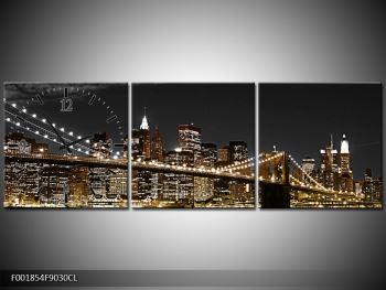 Obraz žlutého New Yorku (F001854F9030CL)