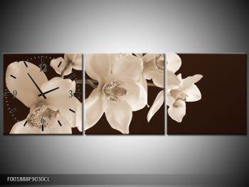 Krásný obraz bílých květin (F001888F9030CL)