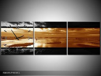 Dvroubarevný obraz moře (F001957F9030CL)