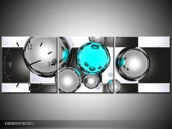 Obraz s hodinami F004095F9030CL (F004095F9030CL)