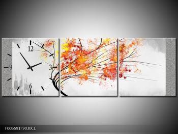Abstraktní obraz -  podzimní strom (F005591F9030CL)
