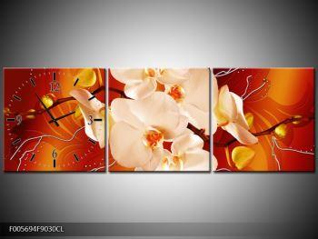 Obraz bílých orchidejí (F005694F9030CL)