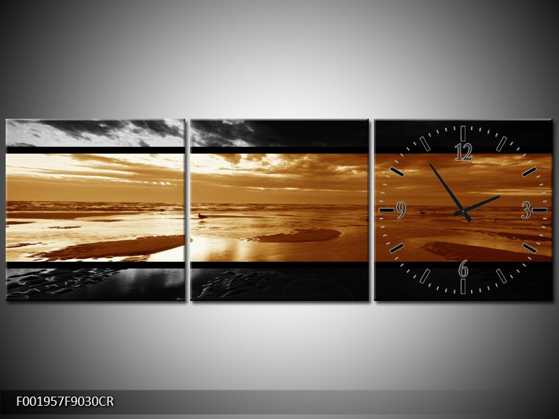 Dvroubarevný obraz moře (F001957F9030CR)