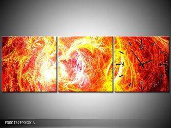 Abstraktní oranžový obraz (F000152F9030CR)