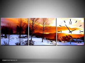 Obraz zimní krajiny (F000192F9030CR)