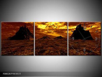 Obraz vyprahlého údolí (F000287F9030CR)