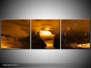 Obraz skály a pláže (F000300F9030CR)
