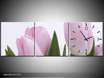 Obraz růžových tulipánů (F000389F9030CR)