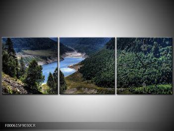 Obraz řeky a hor (F000615F9030CR)