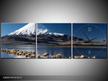 Obraz zasněžené hory (F000974F9030CR)