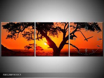 Obraz ohnivého západu slunce (F001288F9030CR)