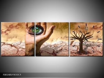 Obraz oka na dlaňi (F001485F9030CR)