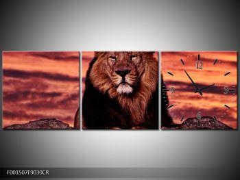 Obraz krále zvířat (F001507F9030CR)