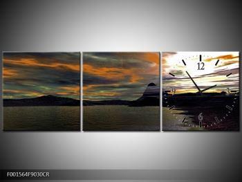 Obraz moře v temné obloze (F001564F9030CR)