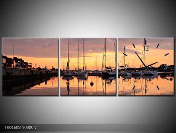 Obraz přístavu (F001605F9030CR)