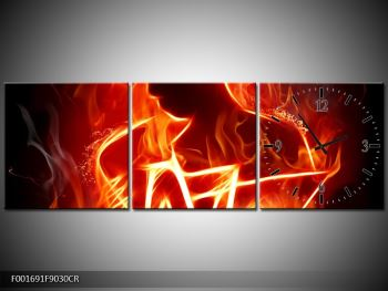 Obraz ohnivé postavy (F001691F9030CR)