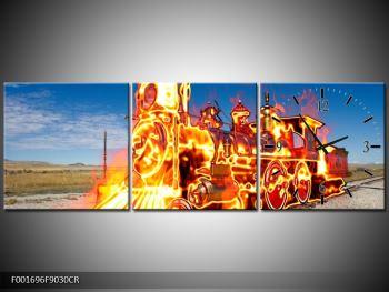 Obraz ohnivé lokomotivy (F001696F9030CR)