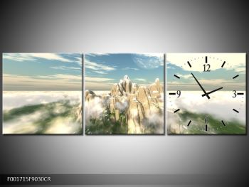 Obraz zasněžených vrcholů skal (F001715F9030CR)