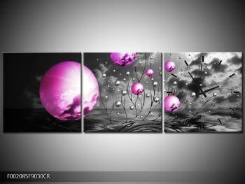 Moderní obraz - slunce v kouli (F002085F9030CR)