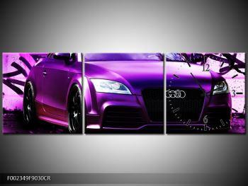 Obraz fialové Audi (F002349F9030CR)