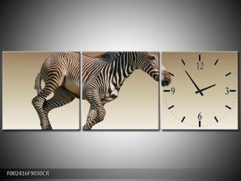Obraz běžící zebry (F002416F9030CR)