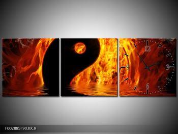 Obraz hořícího Jin Jangu  (F002885F9030CR)