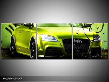 Obraz zelené Audi  (F003676F9030CR)