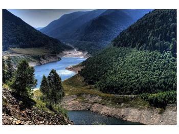 Obraz řeky a hor (F000615F9060)
