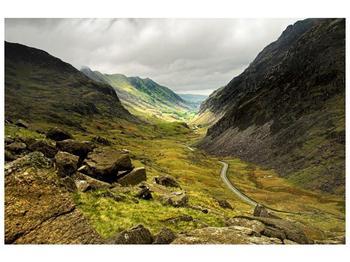 Obraz cesty uprostřed hor (F000621F9060)