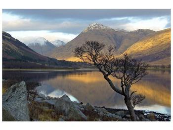 Obraz hor u jezera (F000686F9060)