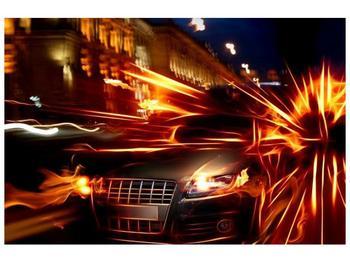 Obraz jedoucího auta (F000797F9060)