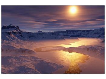 Krásný obraz zimní krajiny (F000939F9060)