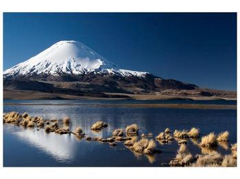 Obraz zasněžené hory (F000974F9060)