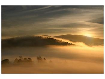 Obraz hor v mlze (F001451F9060)