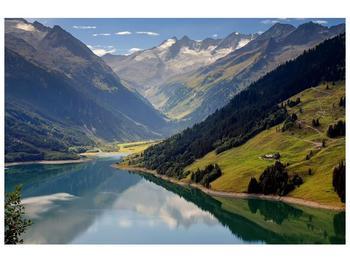 Obraz horského údolí (F001494F9060)