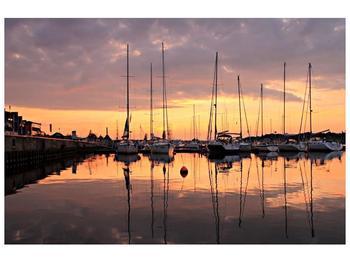 Obraz přístavu (F001605F9060)
