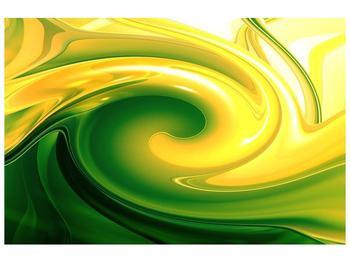 Abstraktní obraz - zelené (F001703F9060)