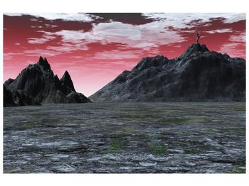 Obraz skalnaté přírody (F001712F9060)